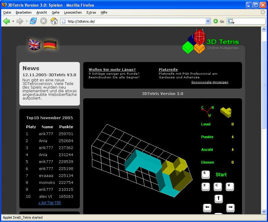 tetris offline spielen